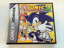 Sonic Advance 3 - GBA - Replacement Case - No Game