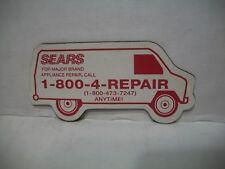 Sears Magnet Rubber Appliance Repair Van Truck Department Store Roebuck Souvenir