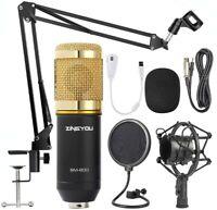 ZINGYOU Condenser Microphone Bundle, BM-800 Mic Kit-SUPER BUNDLE-FREE FREIGHT
