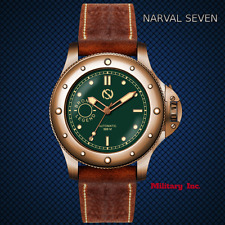 NARVAL SEVEN NZ-2101 BRONZE LE AUTO NEW IN BOX INTERNATIONAL SHIPPING USA DEALER
