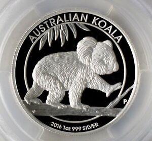 PR~70 ~ 2016-P ~.999 SILVER ~ AUSTRALIA ~ KOALA ~GEM~ PCGS ~PR~70 DCAM ~ $128.88
