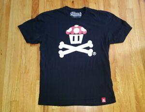 Johnny Cupcakes Nintendo Super Mario Limited Edition Mushroom T-Shirt Size XL