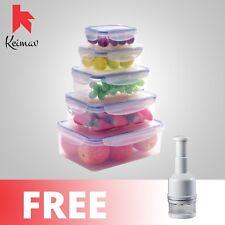 Keimavlock 10-Pc Airtight Food Storage with Onion and Garlic Chopper