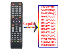 142021270009C Replace for Sceptre TV Remote X405BVFMQR, X409BVFHDR, X505BVFMDR