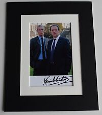 Kevin Whately Signed Autograph 10x8 photo display Lewis TV AFTAL Memorabilia COA