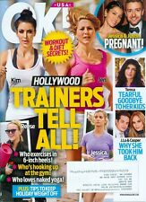 2014 OK! Magazine: Jennifer Aniston Kim Kardashian Jessica Simpson Trainers Tell