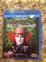 Alice in Wonderland (Blu-ray/DVD, 2011, 2-Disc Set)Authentic US Release