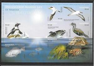 Namibia 2011 Endangered marine Life Imperf