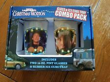 National Lampoon's Christmas Vacation Glass and Ice Cube Tray Combo Pack NIB