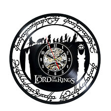 The Lord of The Rings_Exclusive wall clock made of vinyl record_GIFT