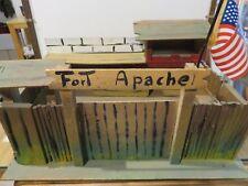Vecchio fortino per soldatini tipo Nardi Atlantic Tibidabo FORT APACHE in legno