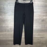 """Liz Claiborne Size 4 Women's Audra Trouser Dress Pants Charcoal Gray 32"""" Inseam"""