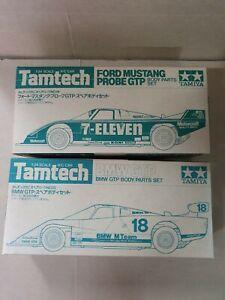 VINTAGE TAMIYA 1/24 FORD MUSTANG/BMW GT TAMTECH SCALE BODY SET NIB NIP FREESHIP!