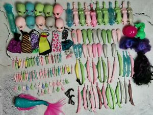 Monster High Create a Monster 150+ Parts Huge lot