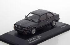 1:43 Minichamps   BMW 3-SERIES (E30)  1989  BLACK METALLIC  L.E. 504 pcs.