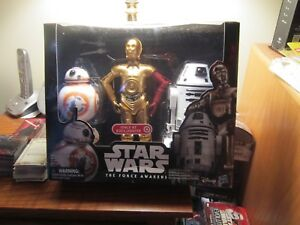 """STAR WARS """"TARGET"""" EXCL. 12"""" 2015 (BB-8, C-3PO, & RO-4LO """"THE FORCE AWAKENS"""")!!!"""