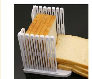 Bread Slicer Cutter Slicing Tools Bread Guide Kitchen Mold Maker Sandwich Toast