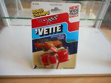 Road Champs Corvette Vette '57 COrvette in Red on Blister