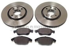 PEUGEOT 5008 1.6 HDi VTi 2008-2016 FRONT 2 BRAKE DISCS AND PADS (283mm SIZE)