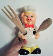 PORCO CHEF porta cucchiai di legno