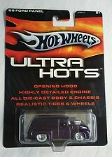 HOT WHEELS ULTRA HOTS 56 FORD PANEL VAN REAL RIDERS DIE CAST MINT!! PURPLE