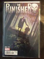 The Punisher issue #2 1:25 Vanessa Del Rey Variant NM Marvel