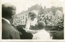 Queen Astrid-King Leopold-Brugge-Belgium-Historic RPPC-3 Real Photo Postcard Lot