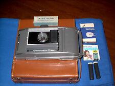 Very Nice, Vintage Polaroid J66 Camera. With Original Case, and Extras.