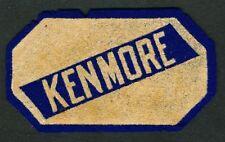 1930's Auto Racing Felt Uniform Patch Kenmore