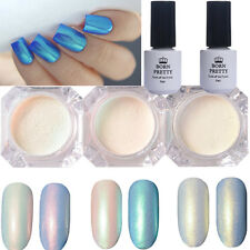 Nail Glitter Pearl Powder Top Coat Base Coat Gel Polish Kit BORN PRETTY