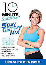 10 Minute Solution - Five Day Get Fit Mix (DVD, 2009) - Brand New & Sealed