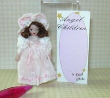 """Miniature Angel Children Doll """"Elise"""" Limited to 9: DOLLHOUSE 1/12 Scale"""