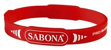 Sabona Pro-Magnetic Sport Magnetic Bracelet - Red - S-M - 7.0