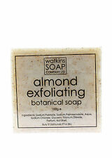 Almond Oil Aromatherapy Soap - SLS Free Exfoliate 100g Bar
