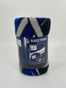 Northwest New York Giant NFL Football Fleece Throw 40 x 50 Brand New