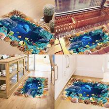 3D Wandtattoo Wandsticker Ozean Kinderzimmer Panorama Ausblick Strand Meer Sea