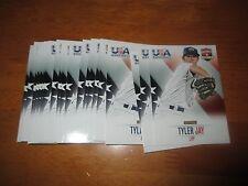 Lot (10) Card #19 TYLER JAY Twins Illinois 2014 Panini USA Baseball Box Set QTY