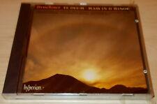BRUCKNER-TE DEUM/MASS IN D MINOR-CD 1993-MATTHEW BEST/JOAN RODGERS-NEW & SEALED