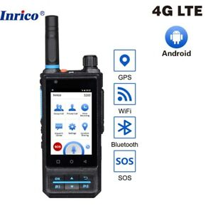 Inrico S200 4G Newwork Mobile POC Andorid Radio Touch Screen with Real Ptt Zello