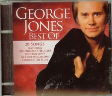 GEORGE JONES - THE BEST OF - 20 SONGS - NEW - FAST FREE SHIPPING !!!