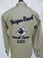 Us Army u. S.O.Saigon Bowl Armed Forces Tour Bowling Shirt 101st AIRBORNE - 3xl