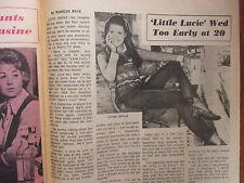 May-1973 Boston Sunday Herald TVue Magazine(LUCIE  ARNAZ/BILL MACY/RALPH NELSON)
