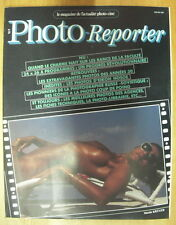 PHOTO REPORTER MAGAZINE N°53 MARS 83 GERARD DALLA JEAN ROBERT FRANCO EIKOH HOSOE