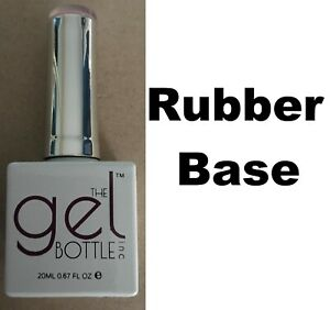 NEW The Gel Bottle Inc TGB Rubber Base Coat Builder Gel System UV LED 20ml