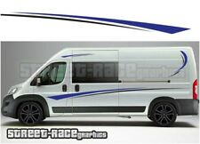 Motorhome Campervan 016 graphics stickers decal Fiat Ducato Citroen Relay Boxer
