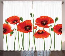 Rustic Nature Curtains 2 Panel Set Decor 5 Sizes Available Window Drapes