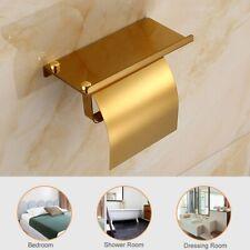 Bathroom Roll Toilet Paper Holder Stainless Steel Wall Mount Tissue Rack Holder