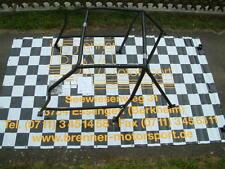 45 STAHL Wiechers Käfig für GOLF 3,Flankenschutz links +rechts,Diagonalstrebe