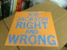 JOE JACKSON RIGHT AND WRONG ~ BREAKING US IN TWO LIVE IMPORT PIC SLEEVE VINYL 12