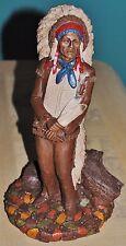 Signed! Tom Clark Chief Hollow Horn Bear Head Dress #39 1987